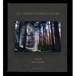 Livre Les Icônes miraculeuses accompagné d'une icône originale sur bois réalisé par l'artiste présenté dans son coffret
