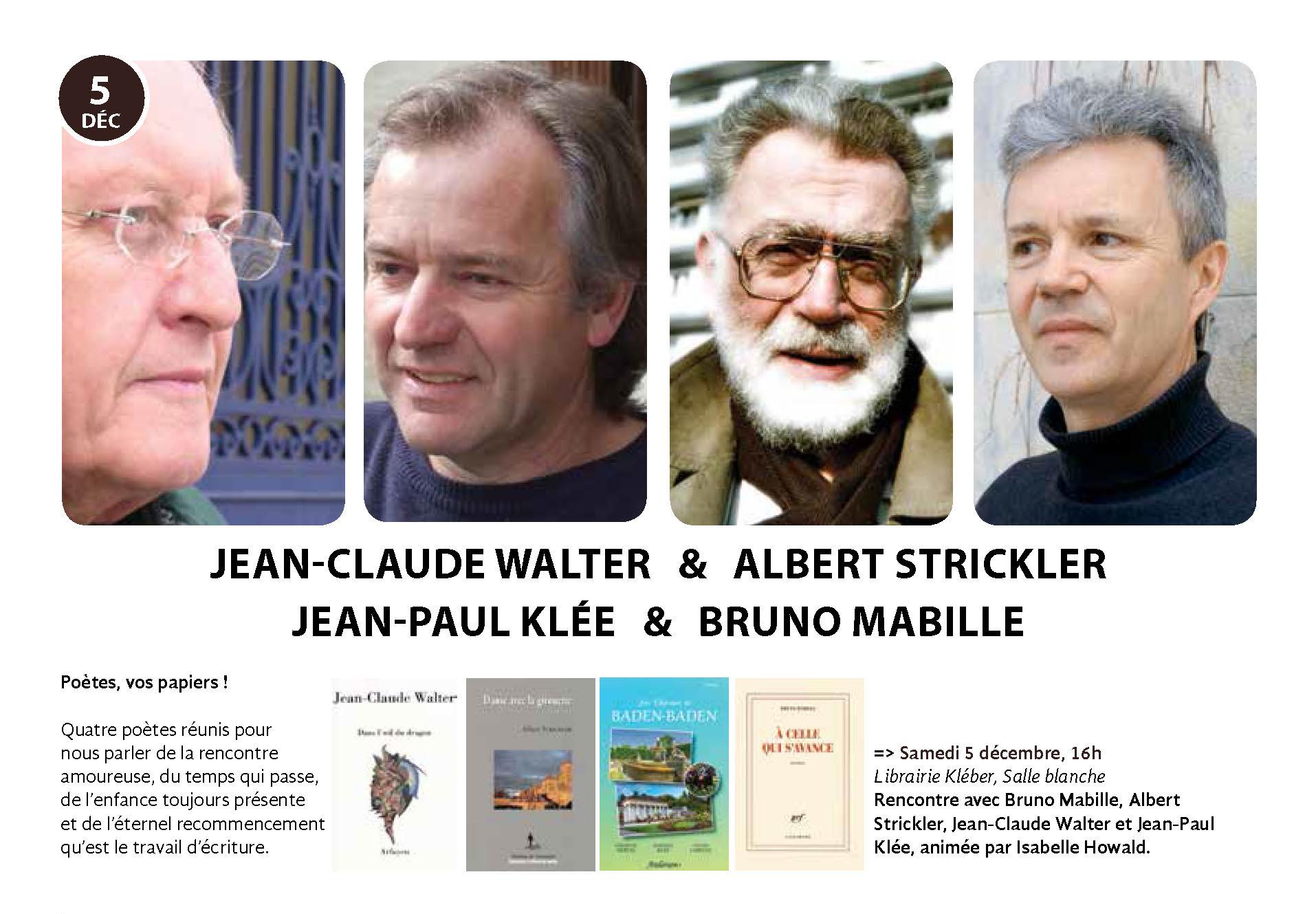 rencontre-poète-Albert-Strickler-Librairie-Kléber-Strasbourg