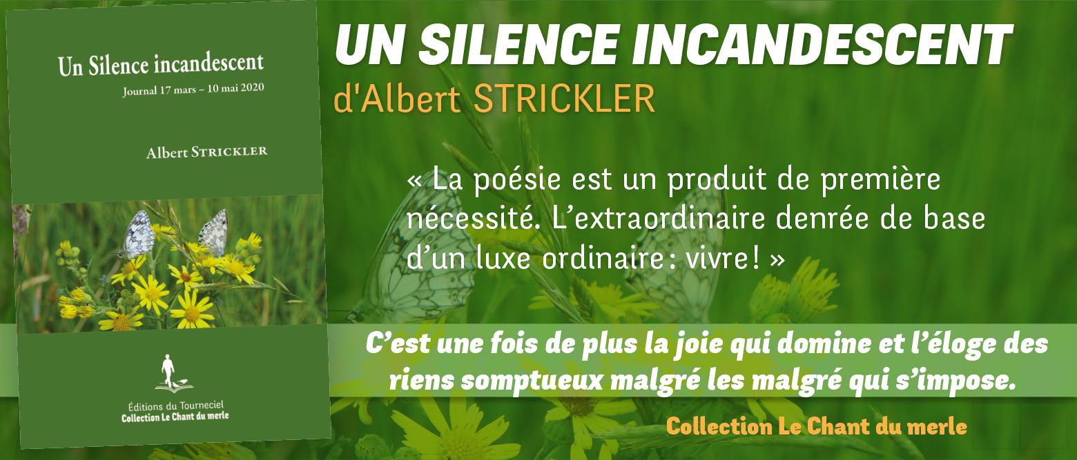 Un Silence incandescent : journal 17 mars – 10 mai 2020
