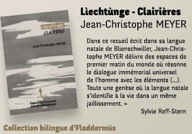 Lìechtùnge - Clairières de Jean-Christophe MEYER