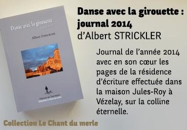 Danse avec la girouette : journal 2014 d'Albert Strickler